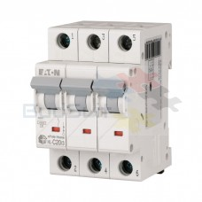 Автоматический выключатель Eaton HL-C20/3 3Р 20А тип C 4.5 кА