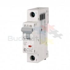 Автоматический выключатель Eaton HL-C10/1 1Р 10А тип C 4.5 кА