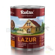 ROLAX  «LAZUR»  Лазурь алкидная для древесины   2,5 л