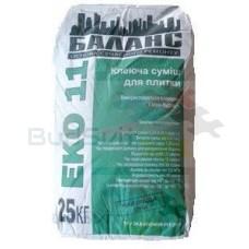 Баланс «ЕКО 11» - клей для керамической плитки 25 кг
