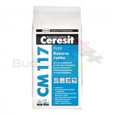 """Ceresit СМ-117 """"Flexible"""" Клей для плитки 5 кг"""