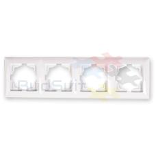 Рамка четверная горизонтальная, Gunsan Visage
