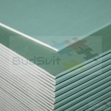 Гипсокартон влагостойкий потолок Knauf ЛГКВ 9.5х1200х2500