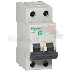 Автоматический выключатель 2P 10А, тип C 4.5 кА, Schneider Electric