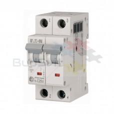 Автоматический выключатель Eaton HL-C25/2 2Р 25А тип C 4.5 кА