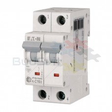 Автоматический выключатель Eaton HL-C16/2 2Р 16А тип C 4.5 кА