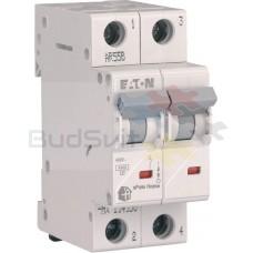 Автоматический выключатель Eaton HL-C10/2 2Р 10А тип C 4.5 кА