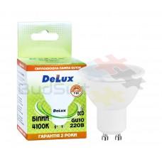 Лампа светодиодная DELUX 7Вт GU10