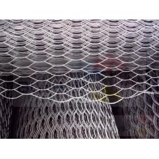 Сетка просечно-вытяжная 15 х 30 х 0.5 мм, 10 кв.м х/к.