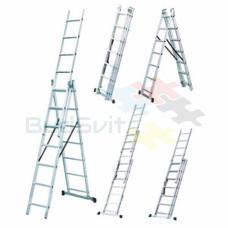 Budfix Лестница универсальная 3х9  ( h 5.54 м, 12.6 кг.)