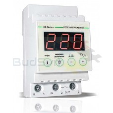 Реле контроля напряжения УКН-40с (с термозащитой), HS-Electro