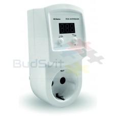 Реле контроля напряжения розеточное УКН-10p, HS-Electro