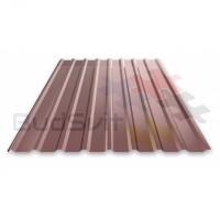 Профнастил ПМ-10 0,30х950х2000 коричневый (шоколадный) Китай