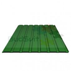 Профнастил ПМ-10 0,30х950х2000 зеленый Китай